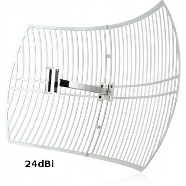 High Gain Grid Antenna for point to point wifi links