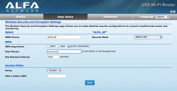ALFA R36 3G Mobile Router