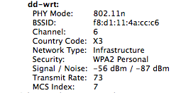 Wireless Signal Strength in OSX