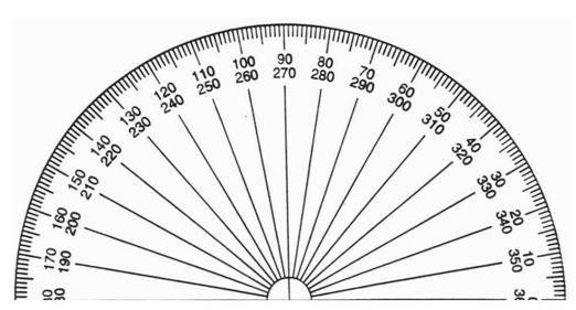 Antenna Tilt Angle Protractor